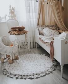 Speelmat Vintage Flowers White