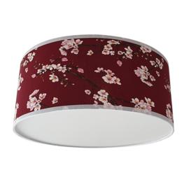Plafondlamp Lentebloesem -Rood