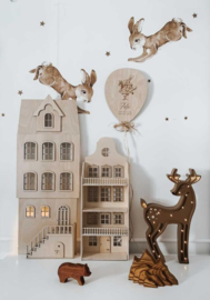 Metamorfose set voor wandpoppenhuis