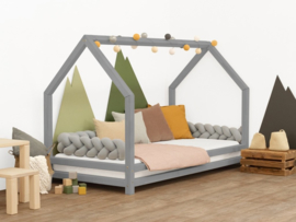 Bed- Funny House -Grey