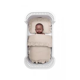 Babypop Beddengoed set - Beige