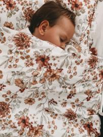 Coco Flower - quilt met kussen -100 x 135cm, 40 x 60cm