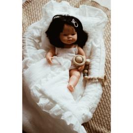 Poppen babynest- Cream