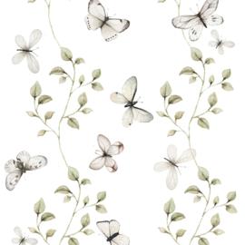 'Butterflies Having Fun ' Behang