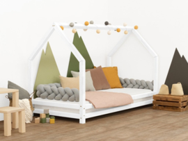 Bed- Funny House -White
