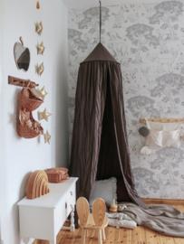 Bedhemel, bruin