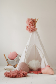 Tipi Tent White Snow'