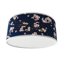 Plafondlamp Lentebloesem -Old Blue