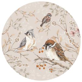 Wandsticker Birds in a Circle