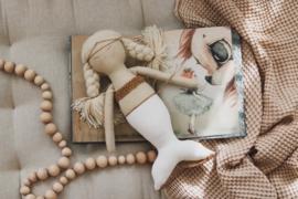 Mermaid Magical White & Gold