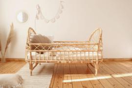 Rotan bed Tiana 120 x 70 cm- in 2 maten verkrijgbaar