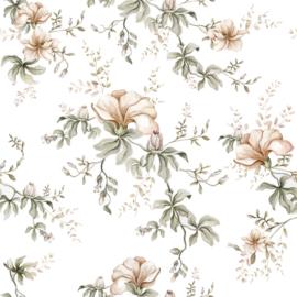 'Flowers Of Wilderness White  ' Behang