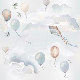'Balloons Fairytale ' Behang