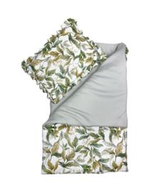 Amazonia - quilt met kussen -90 x 120cm, 40 x 60cm
