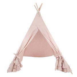 Linnen Tipi Tent Oudroze- XL