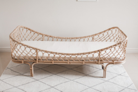 Rotan bed/ sofa Fika