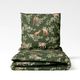 Forest bedding set  -100 x 135cm, 40 x 60cm