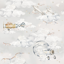 'Magic Planes ' Behang