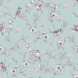 Spring-Mint Behang