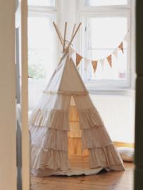 Tipi Tent 'Shabby Chic'