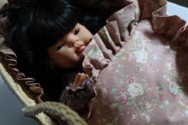 Babypop Beddengoed set - Retro Flowers