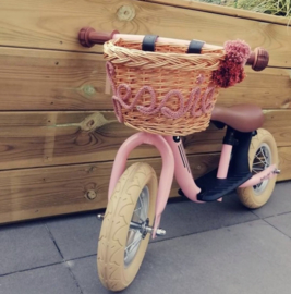 Kinder fietsmand met naam