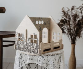 Poppenhuis Magical- Meadow-To Go