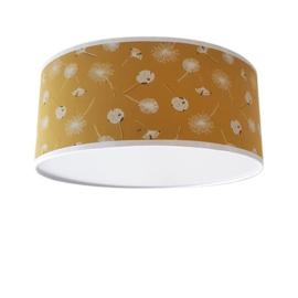 Plafondlamp Zwevende Paardenbloemen Oker