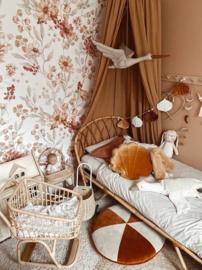 'Autumn Meadow White ' Behang