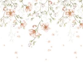 'Paradise Garden Pastel  ' Behang
