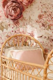 Sierkussen Tweezijdig- Pink & Peony