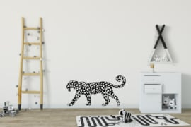 Muursticker Leopard