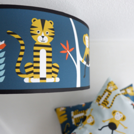 Plafondlamp Jungle, donker blauw-ANNI design