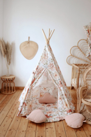 Tipi Tent 'Flower Power'
