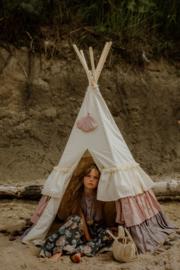 Tipi Tent 'Powder Frills'