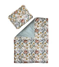 Meadow - quilt met kussen -90 x 120cm, 40 x 60cm