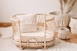 Rotan Mini bank/bed