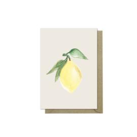 Minikaartje | Lemon