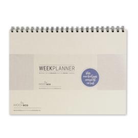 MOOI eco weekplanner  |  jaarplanner | 52 pagina's