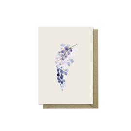 Minikaartje | Blue Rain