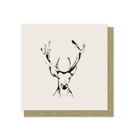Luxe wenskaart | Kerst | Oh my deer