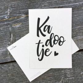 Ansichtkaart   Kadootje   eco