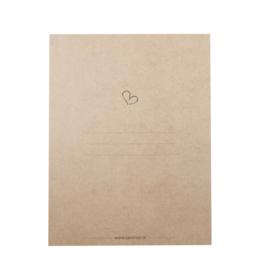 MOOI eco Gastenboek | Invulkaarten