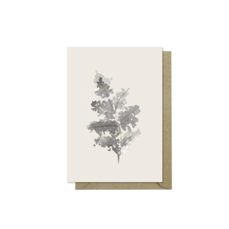 Minikaartje   Black Leaf