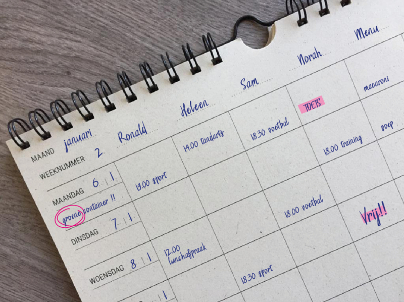 MOOI eco Familieplanner | A4