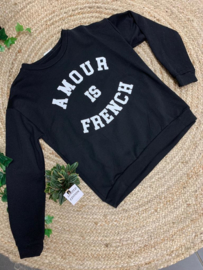 Sweater - Amour is French - TU