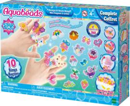 Aquabeads - Luxe ringenset star beads