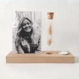 Memory Shelf - Vaasje droogbloemen - Kaars