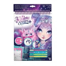 Creatief schetsboek - Nebulia