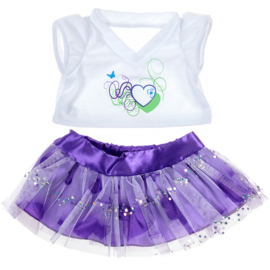 PURPLE HEARTS OUTFIT